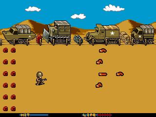 Worm Warrior screenshot