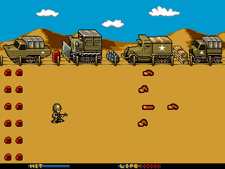 Worm Warrior screenshot