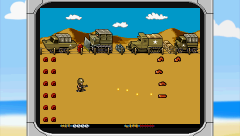 Worm Warrior PSP Screenshot